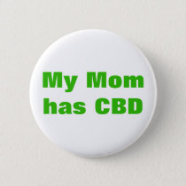 Personalized Corticobasal Degeneration CBD Pinback Button