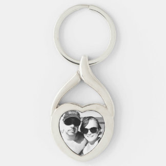 Personalized Couple Photo Romantic Keychain