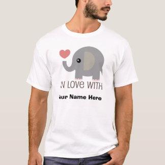 Personalized Couple Shirt Elephant Him T shirt