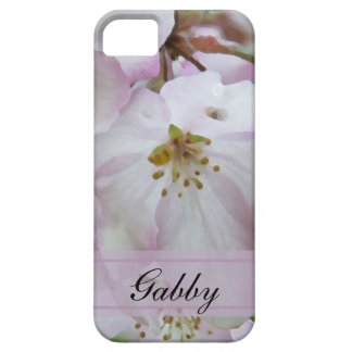 Personalized Crab Apple Blossoms iPhone 5 iPhone SE/5/5s Case