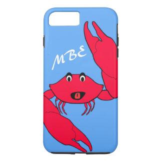 Personalized Crabby Crab iPhone 8 Plus/7 Plus Case