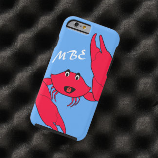 Personalized Crabby Crab Tough iPhone 6 Case