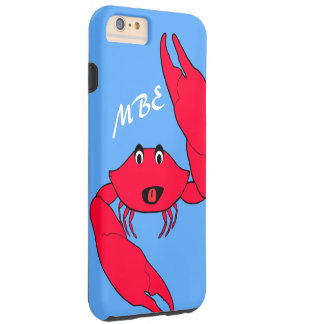 Personalized Crabby Crab Tough iPhone 6 Plus Case