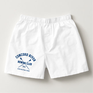 Personalized Crew Rowing Logo Oars Team Name Year Boxers
