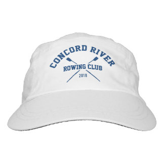 Personalized Crew Rowing Logo Oars Team Name Year Headsweats Hat