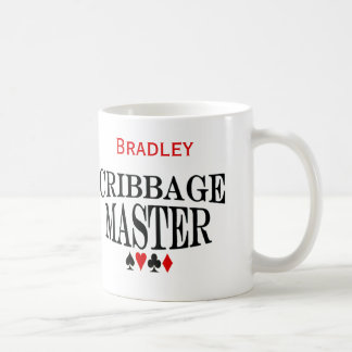Personalized Cribbage Master Coffee Mug