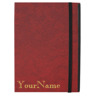 Personalized Crimson iPad Pro Case
