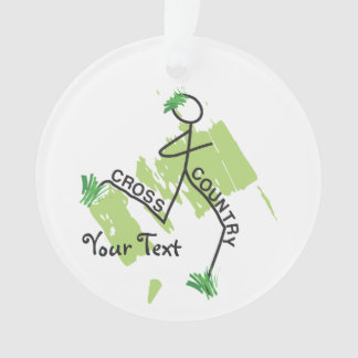 Personalized Cross Country Funny Grass Runner