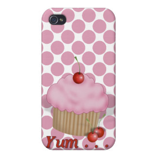 Personalized Cupcake iPhone 4/4S Case