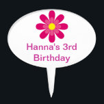 "Personalized cupcake toppers<br><div class=""desc"">Beautiful Flower Cupcake Topper!</div>"