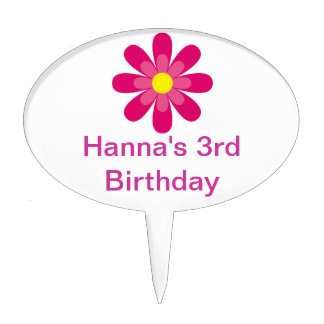Personalized cupcake toppers cake picks