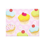 Personalized Cupcakes Canvas Prints