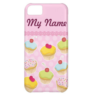 Personalized Cupcakes Case For iPhone 5C