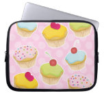 Personalized Cupcakes Computer Sleeve