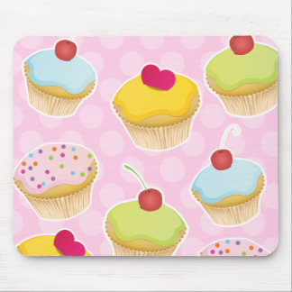 Personalized Cupcakes Mouse Pad