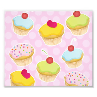 Personalized Cupcakes Photo