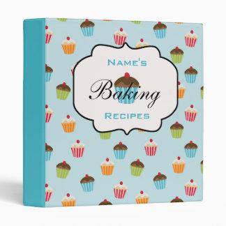 Personalized Cupcakes Recipe Binder