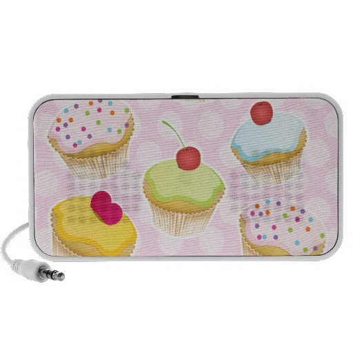 Personalized Cupcakes Travel Speaker