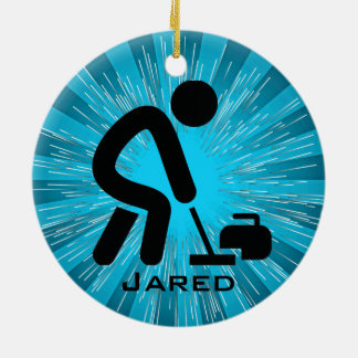 Personalized Curling Ornament