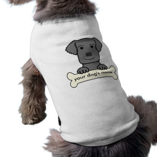 Personalized Curly-Coated Retriever Pet Shirt