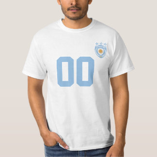 Personalized & Custom Argentina Sport Jersey T-Shi T-Shirt