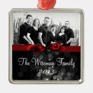Personalized Custom Christmas PHOTO Ornament
