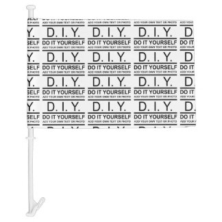 Personalized Custom Color DIY Do It Yourself Car Flag
