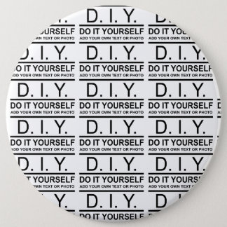 Personalized Custom Color DIY Do It Yourself Pinback Button