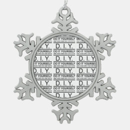 Business name logo holiday decorations christmas dcor zazzle personalized custom color diy do it yourself snowflake pewter christmas ornament solutioingenieria Image collections