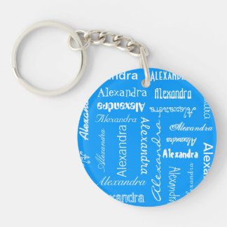 Personalized & Custom Color Keychain