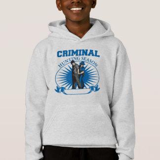 Personalized Custom Criminal Hunting Season Hoodie