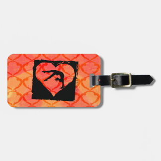 Personalized Custom Dance Gymnastics Bag Tag