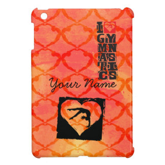 Personalized Custom Dance Gymnastics iPad Mini Cover