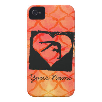 Personalized Custom Dance Gymnastics iPhone 4 Cover