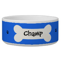 Personalized Custom Dog Bowl