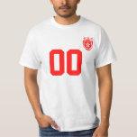 Personalized & Custom Hong Kong Sport Jersey T-Shi T-Shirt