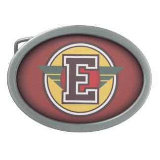 Personalized Custom Initial E Belt Buckles