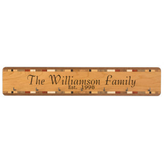 Personalized Custom Monogram Key Rack