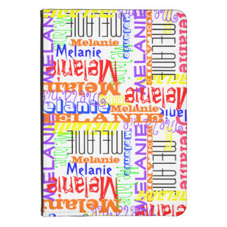 Personalized Custom Name Collage Colorful Kindle 4 Case