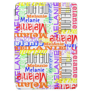 Personalized Custom Name Collage Colorful iPad Air Cover
