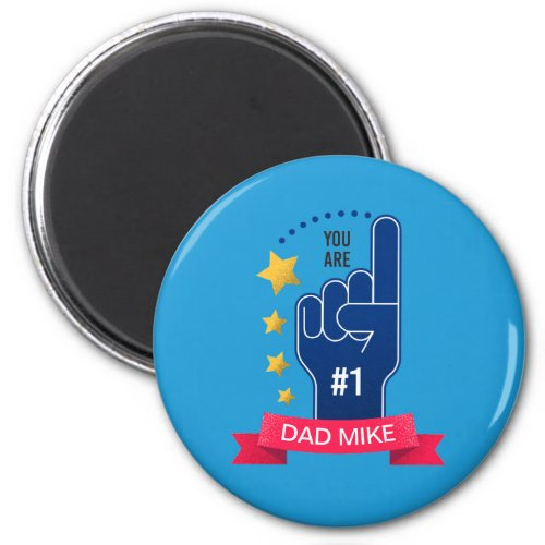 Personalized Custom Name Fathers Day  Magnet