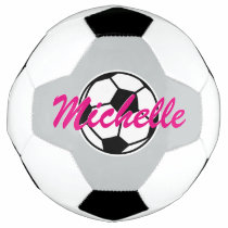 Personalized custom name soccer ball for children