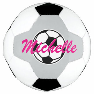 Personalized custom name soccer ball for children