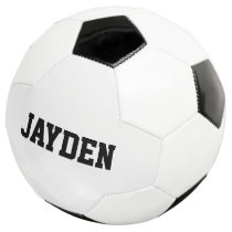 Personalized custom name soccer ball for kids