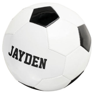 Personalized custom name soccer ball for kids