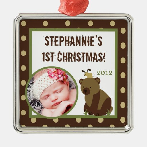 Personalized Custom Ornament Enchanted Hollow Bear