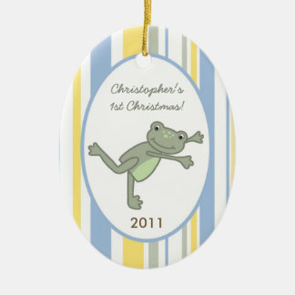Personalized Custom Ornament Leap Frog Turtle Bee