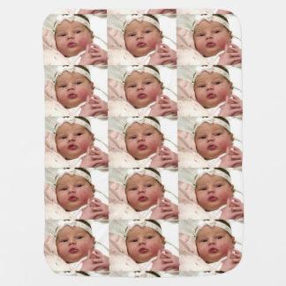 Personalized custom photo baby blanket