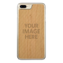 Personalized Custom Photo Carved iPhone 8 Plus/7 Plus Case