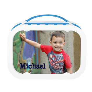 Personalized Custom Photo Child's Lunchbox at Zazzle